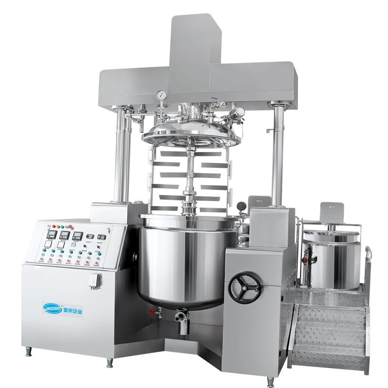 Double Rod Vacuum Homogenizing Emulsifying Mixer