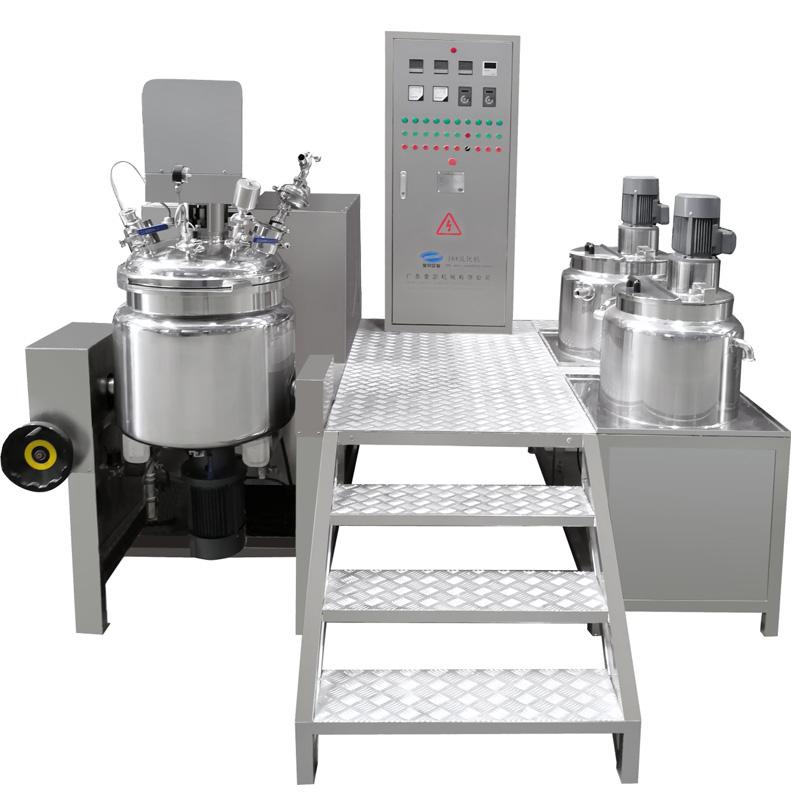 Tilting Vacuum Homogenizing Emulsifying Mixer