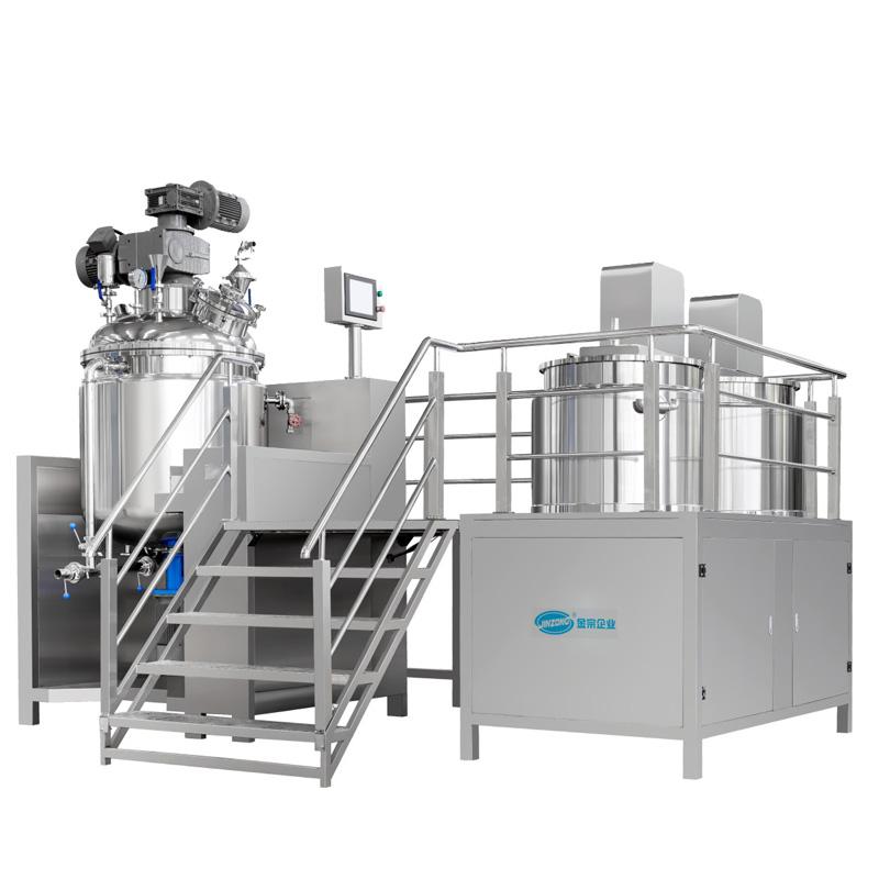 Fixed Type Vacuum Homogenizing Emulsifying Mixer