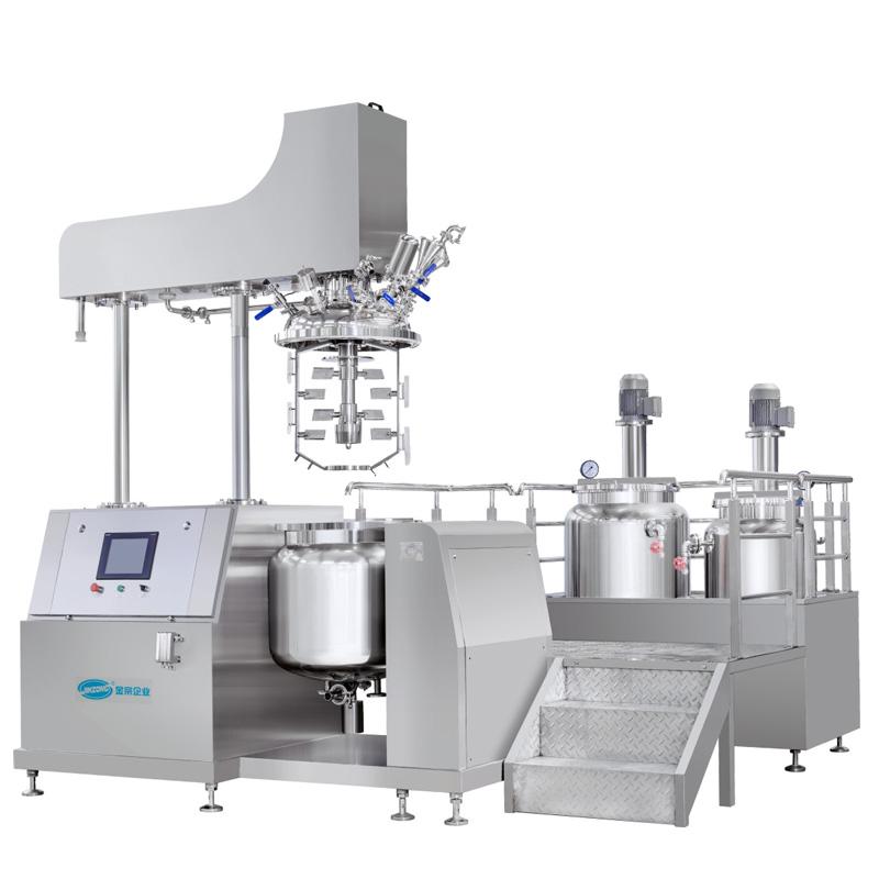 Compact Type Vacuum Homogenizing Emulsifying Mixer
