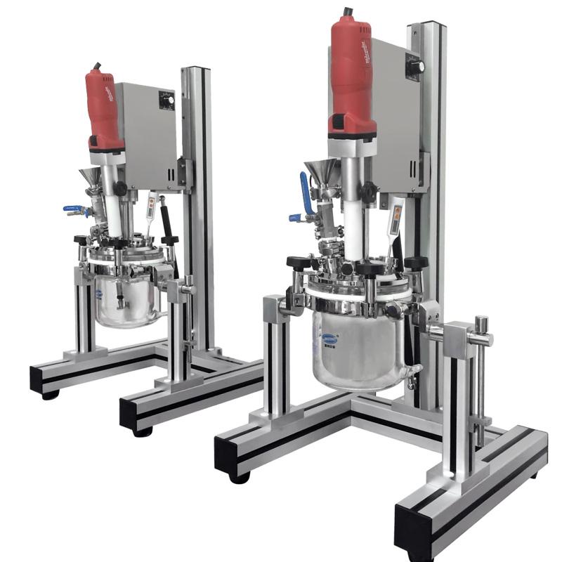 Multifunctional Laboratory Vacuum Emulsifying Mixer
