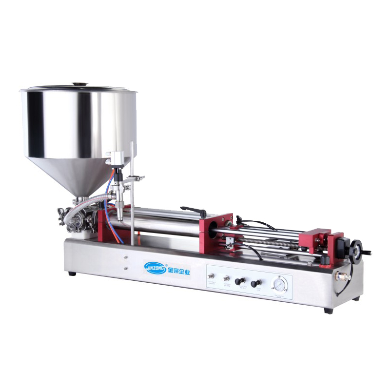 Horizontal Pneumatic Ointment And Liquid Filling Machine