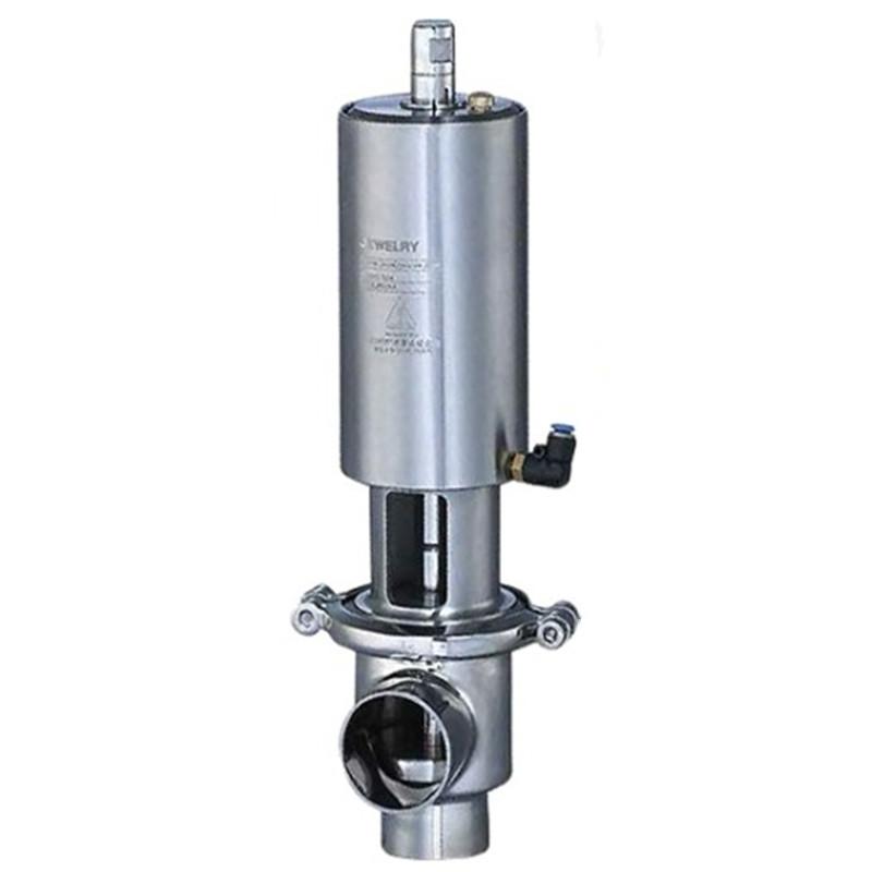 Sanitary shut-off valve