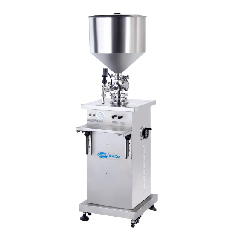 Single head vertical paste filling machine