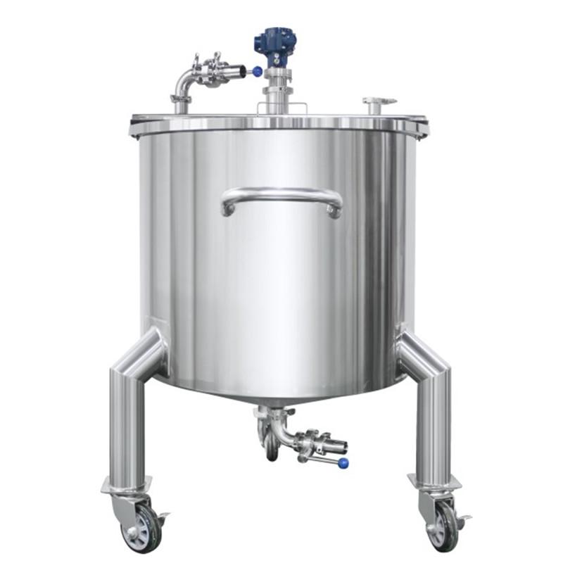 Flat Cover Pneumatic Mixing Tank