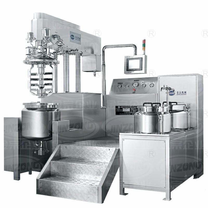 JRKA上均质真空乳化机(触摸屏)