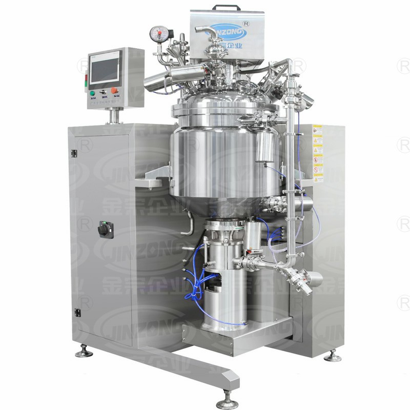 JRF新款真空乳化机New Vacuum Homogenizing Emulsifying Mixer