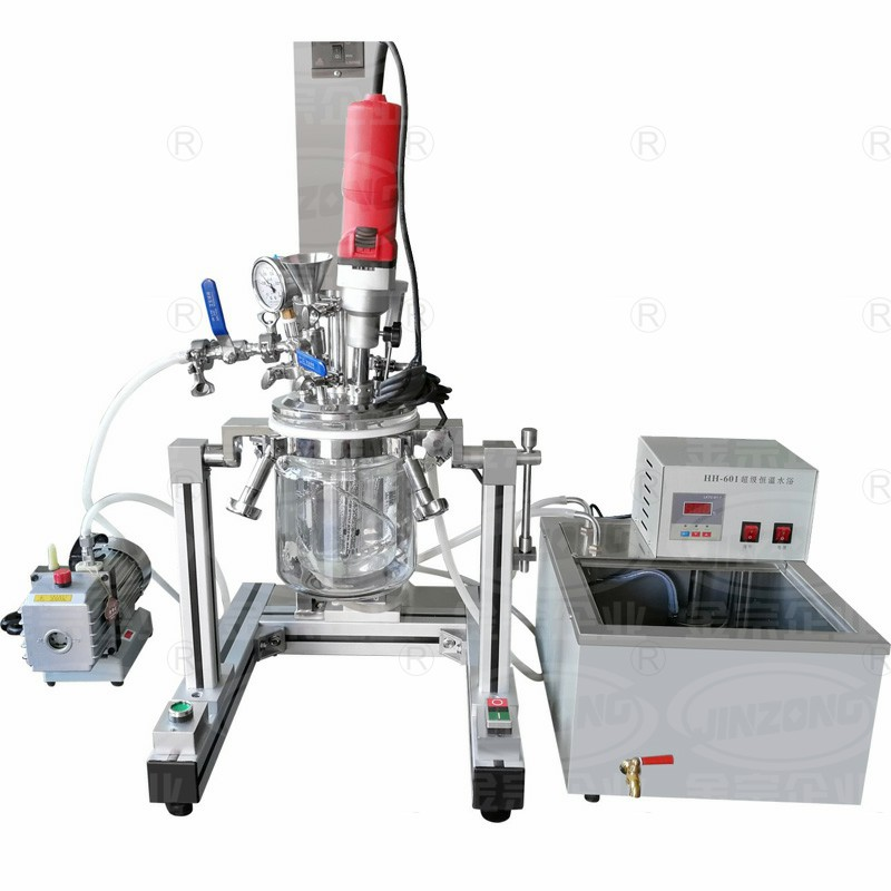 MLR-1L多功能实验室乳化机(整套)Multifunctional Laboratory Vacuum Emulsifying Mixer