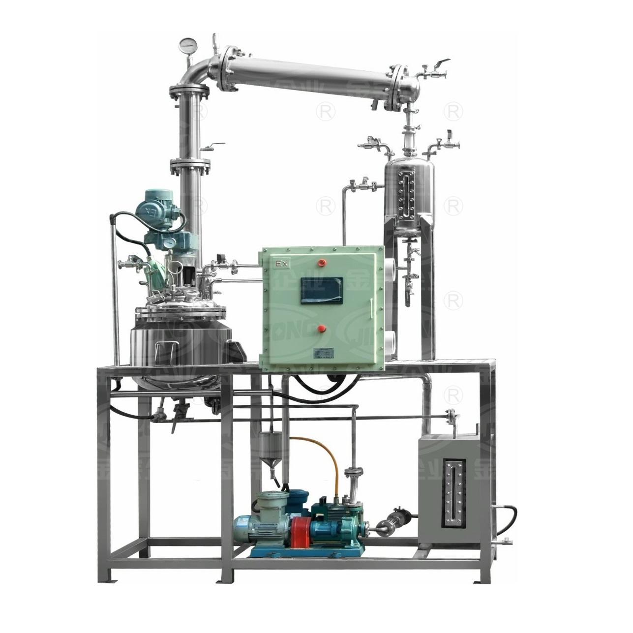 Automatic pilot resin plant