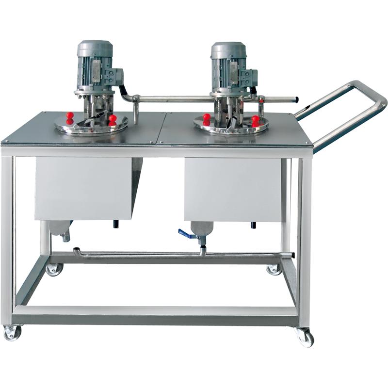 9-JRX小型真空乳化机移动式水油锅
