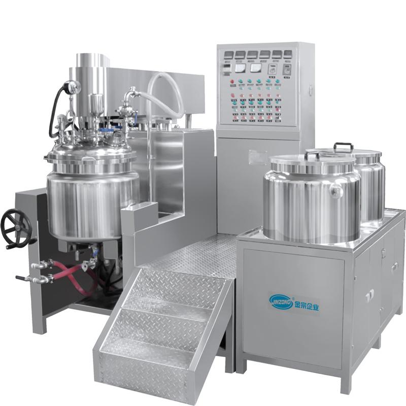 JRKA上均质真空乳化机(手动型)