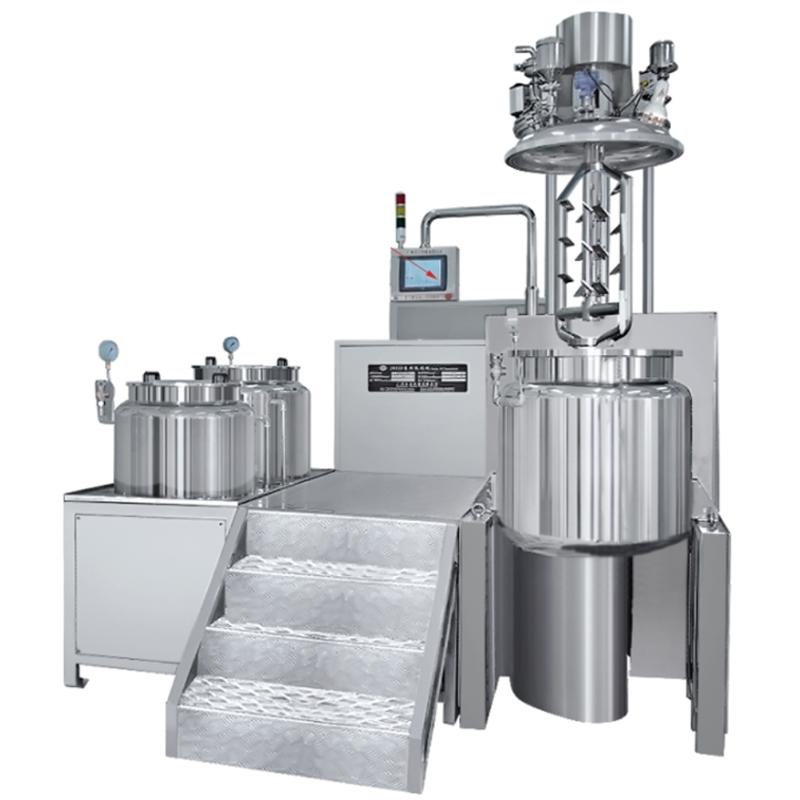 JRKH可倾式双向搅拌乳化机(全自动)