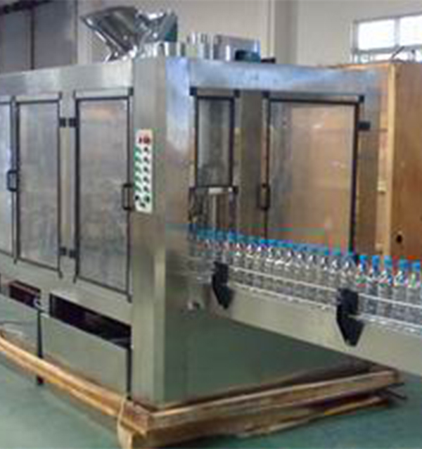 2000 bottle 1 hour three in one filling machine