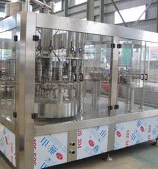 自动小瓶灌装设备-8000瓶1小时三合一灌装机