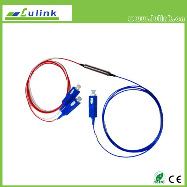 Blockless PLC splitter  1*2,SC/PC