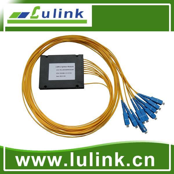 PLC splitter  module  1*8,SC/PC