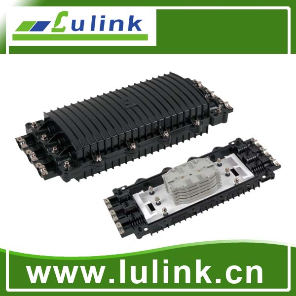 LK10P313-1   Horizontal type Fiber Optic Splice Closure with three inlets/outlets