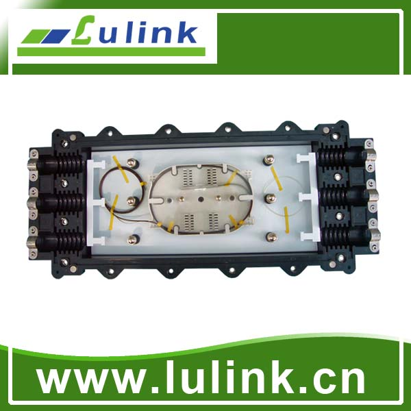LK10P313-4   Horizontal type Fiber Optic Splice Closure with three inlets/outlets