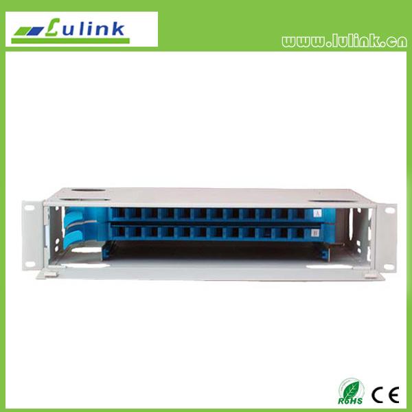 36 core fiber optic distribution frame