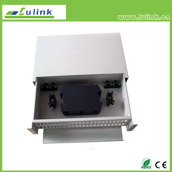 96 core fiber optic distribution frame
