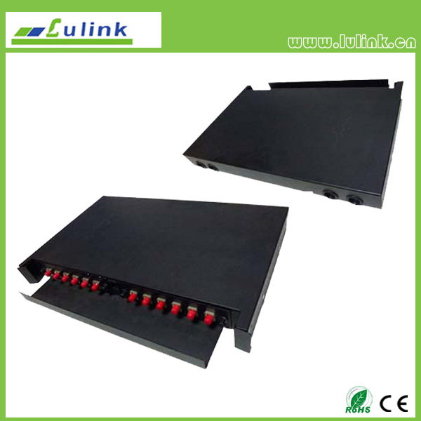 12 core fiber optic distribution frame
