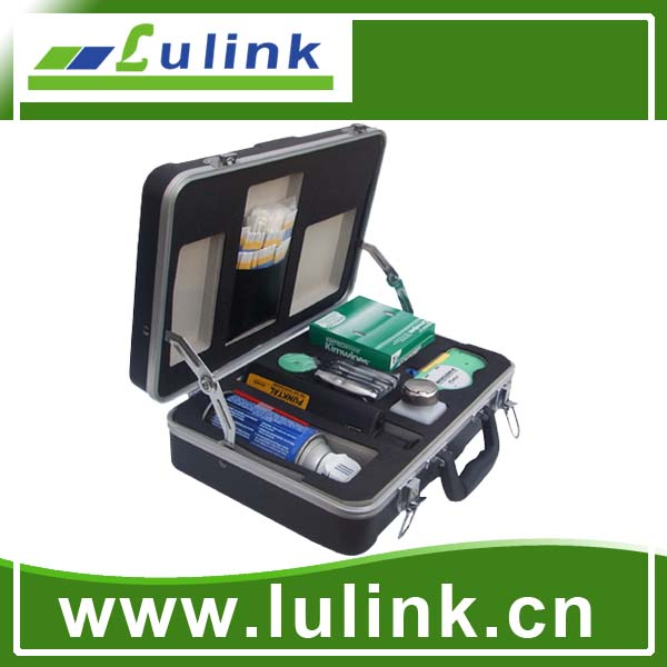 Deluxe Fiber Optic Cleaning Kit with 400X Inspection Scope