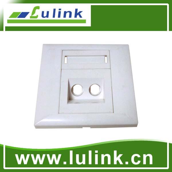 fiber optic faceplate