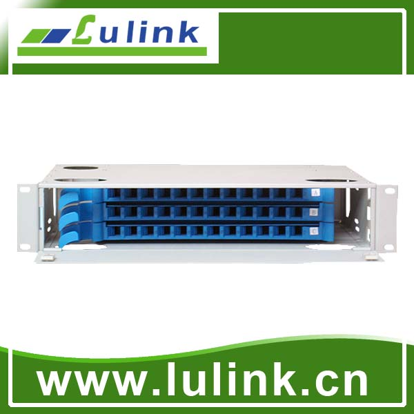 fiber optic patch panel  19-inch,36core