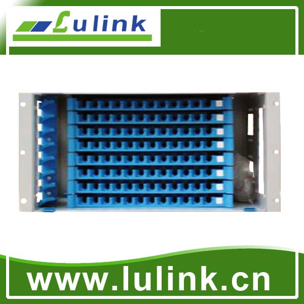 fiber optic patch panel  19-inch,96core