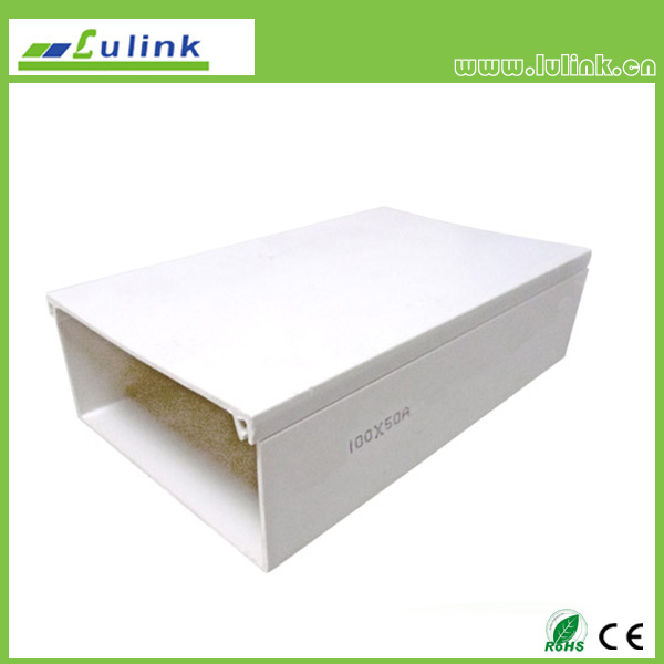 LK-PVCTK002.  PVC cable trunking   100*50MM