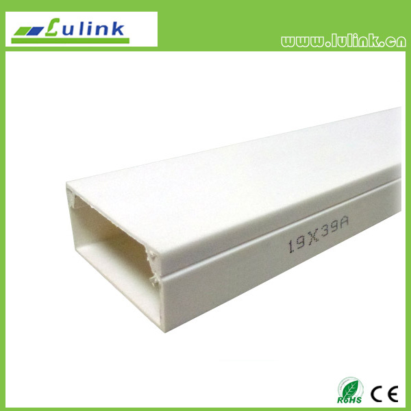 LK-PVCTK010.  PVC cable trunking   19*39 MM