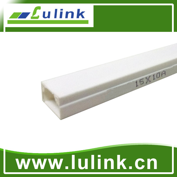 LK-PVCTK015.  PVC cable trunking   15*10 MM