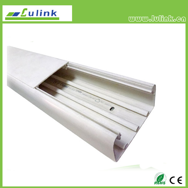 LK-PVCTK018  Slotted  PVC cable trunking