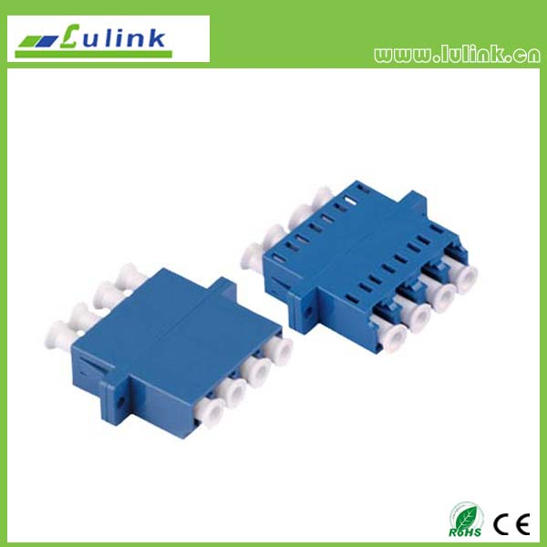 LC Fiber Optic Adapter SM 4 PORT