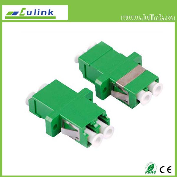 LC Fiber Optic Adapter APC DUPLEX