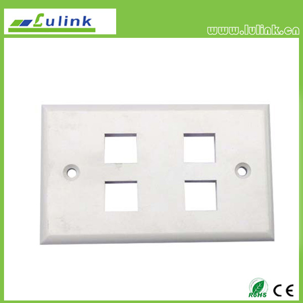 4 Ports 120 Faceplate
