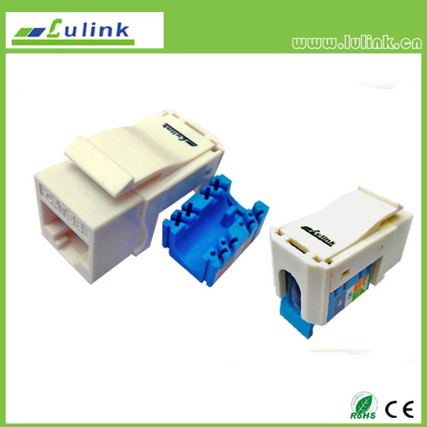 UTP Cat.5e    RJ45 Keystone Jack  90 Degree,tooless