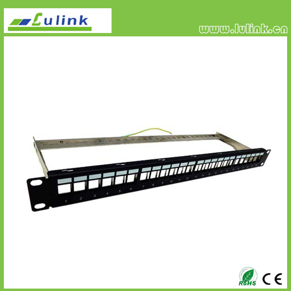 Specification for Cat5e Patch Panel 24port with Bar