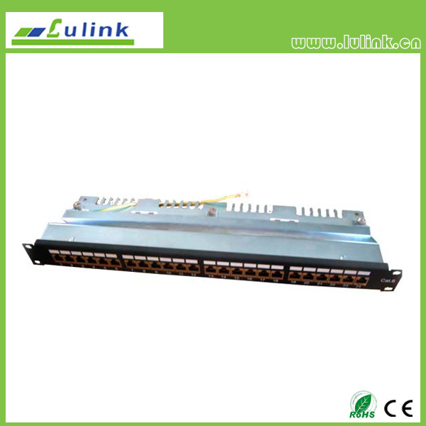 Cat6 UTP 24PORT Patch Panel(Krone End)