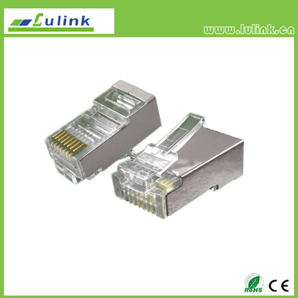 Cat5e FTP RJ45 8P8C Plug   one roll two Branchs