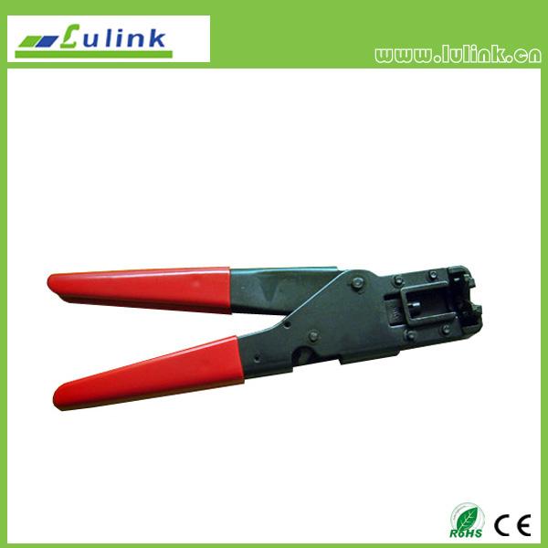 Crimping tool for rj11, rj12 , rj45