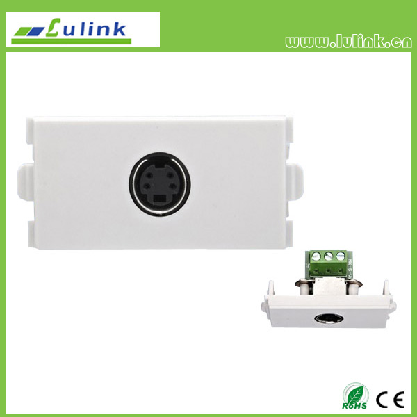 S-Video wall plate