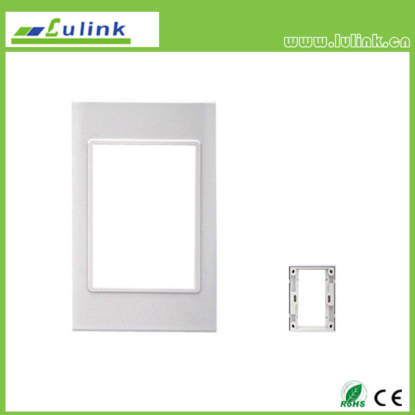 120 type wall plate frame