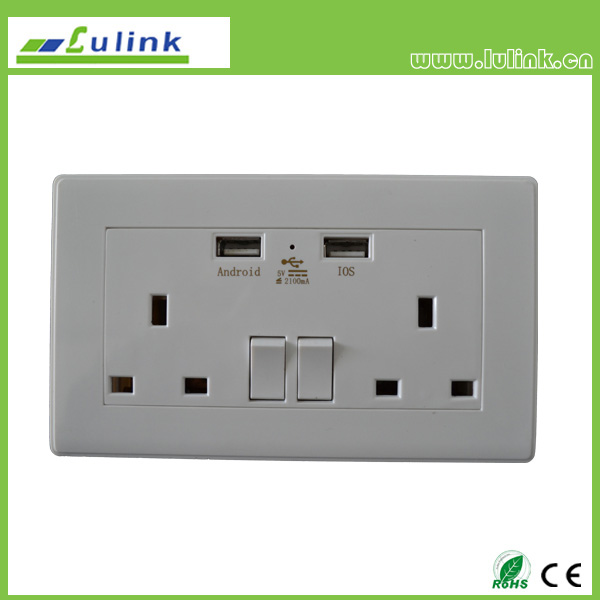 USB Intelligent Socket/USB outlet/USB wall plate