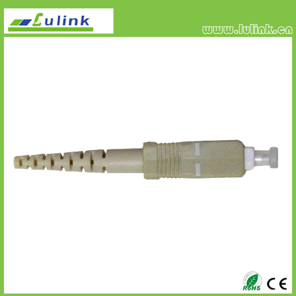 SC  Fiber Optic Connector,MM,SIMPLEX,0.9MM/2.0MM/3.0MM