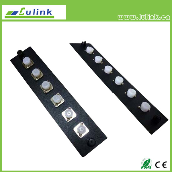 Fiber Optic Adapter Panel,FC type,6 ports, simplex,with MM adapter