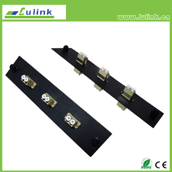 Fiber Optic Adapter Panel,LC type,3 ports,duplex,with MM adapter