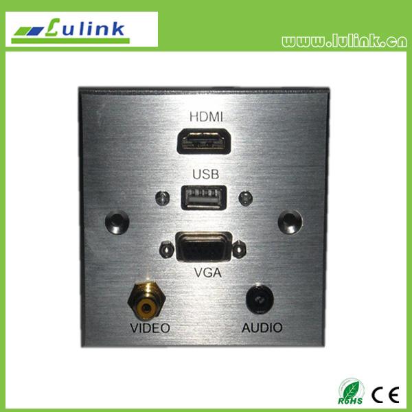 86 Type Aluminium Alloy Wall plate/Faceplate