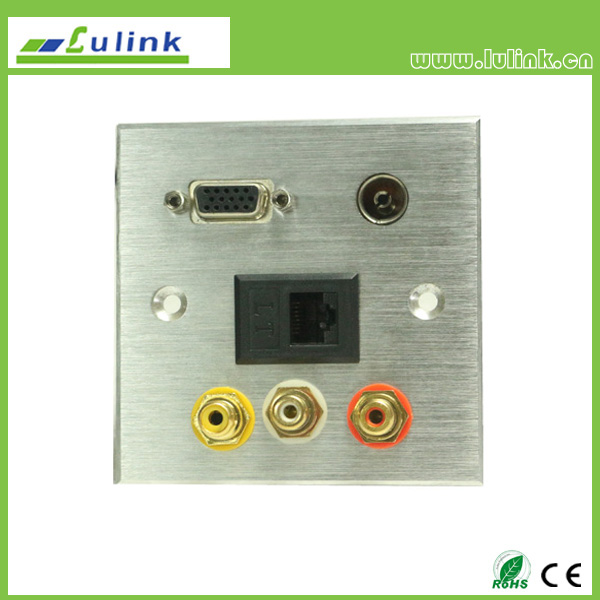 86 Type Aluminium Alloy Wall plate/Faceplate