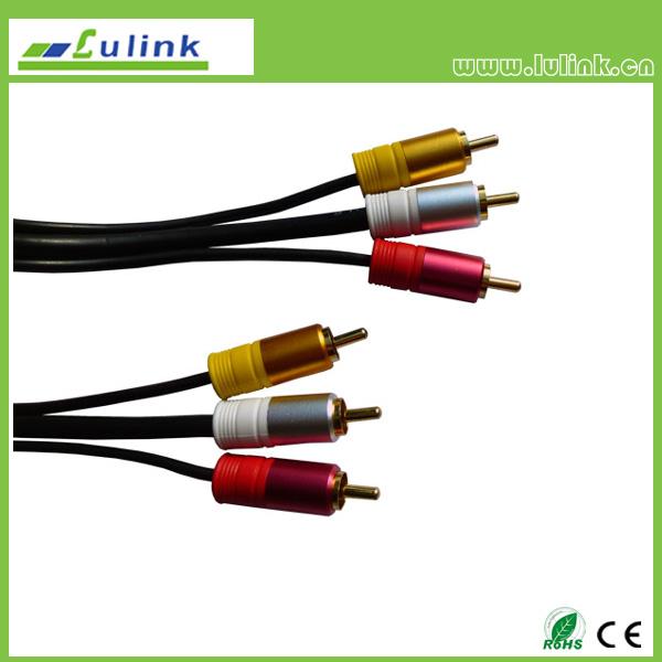 3RCA.Plug-Plug Cable